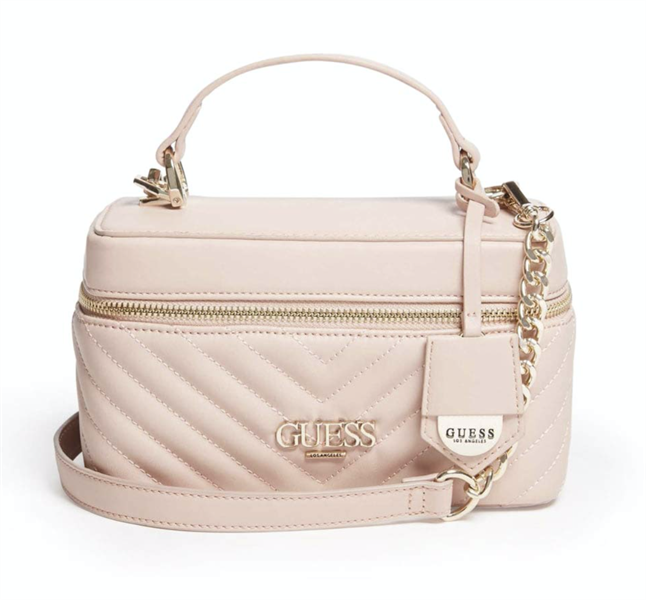 Túi Guess Aleesha Canteen Crossbody, Blush
