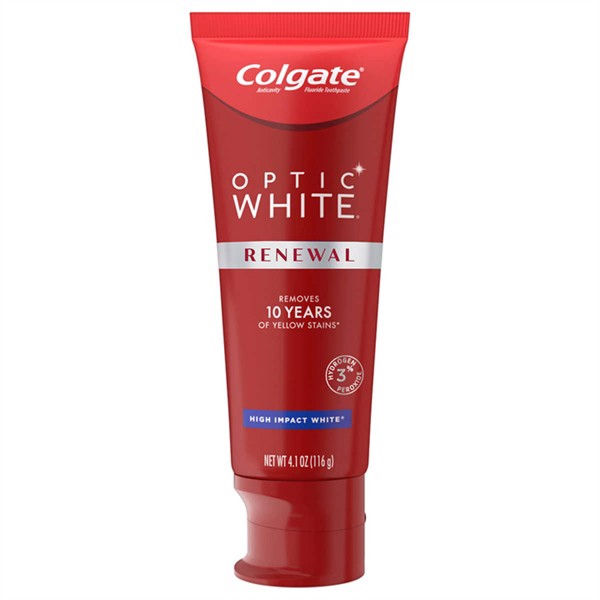 Kem Đánh Răng COLGATE Optic White Renewal High Impact White, 116g