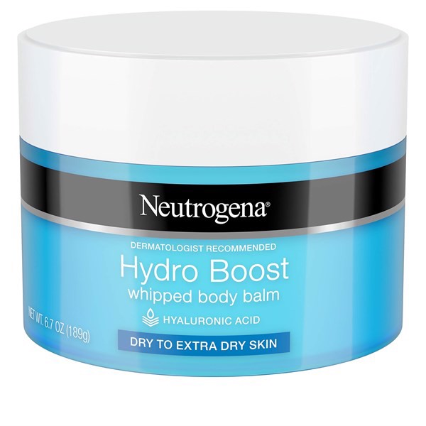 Kem Dưỡng Da Neutrogena Hydro Boost Whipped Body Balm For Dry to Extra Dry Skin, 189g