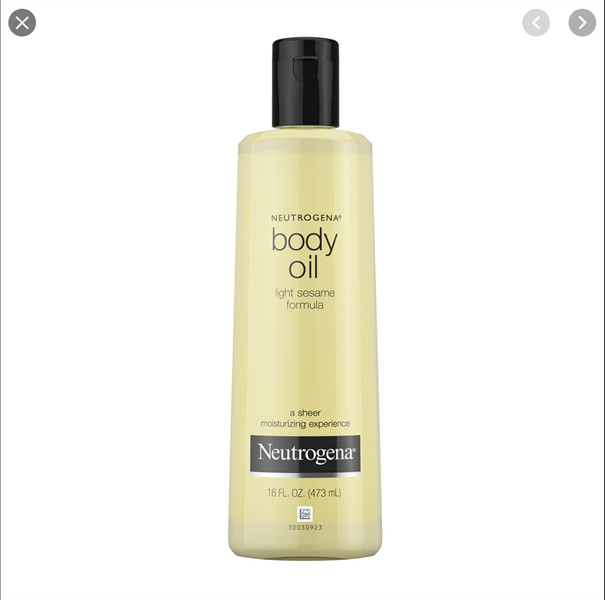 Neutrogena Body Oil, Light Sesame Formula, 473ml