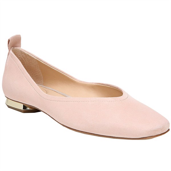 Giày FRANCO SARTO Ailee Flat G9548L1651, Blush Suede, Size 37 (7US)