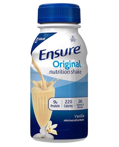 Sữa Nước Ensure Original Nutrition Shake Vanilla Lon 237ml