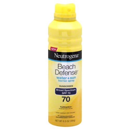 Xịt Chống Nắng Neutrogena Beach Defense Water + Sun Protection