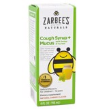 Siro Trị Ho ZARBEE'S Cough + Mucus Drak Honey & Ivy Leaf, For Children 1-12 Years