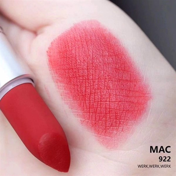 Son Mac Powder Kiss Lipstick Rouge à Lèvres, 922 Werk Werk Werk