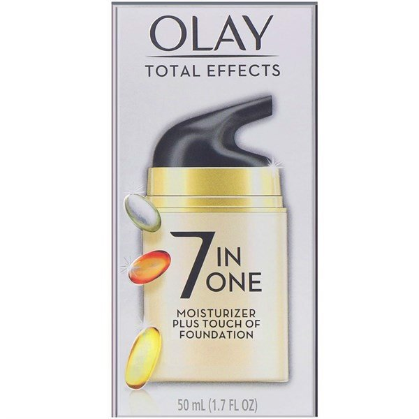 Kem Dưỡng Da Olay Total Effects 7-in-One Moisturizer Plus Touch Of Foundation, 50ml