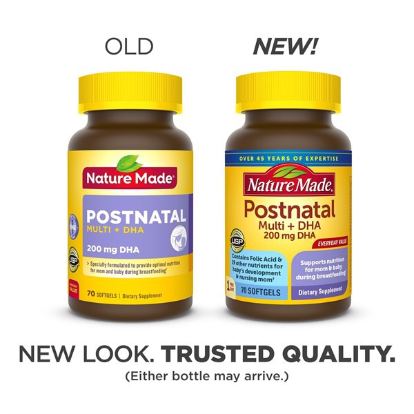 TPCN Nature Made Postnatal Multi + 200mg DHA