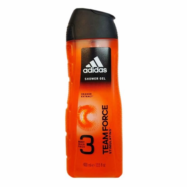 Gel Tắm, Gội, Rửa Mặt Adidas 3in1 Teamforce Stimulating, 400ml