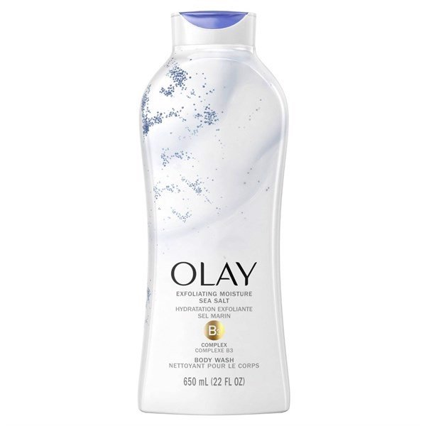 Sữa Tắm Olay Exfoliating Moisture Sea Salt B3 Complex, 650ml