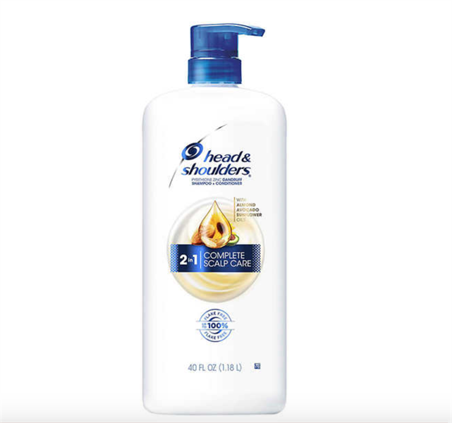 Dầu Gội Head & Shoulders Almond Avocado Sunflower 2in1 Complete Scalp Care, 1.18 Lít