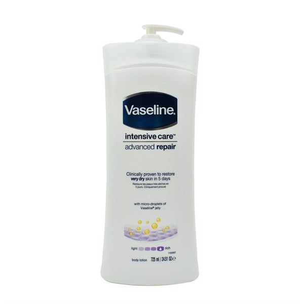 Sữa Dưỡng Thể VASELINE Intensive Care Advanced Repair, 725ml