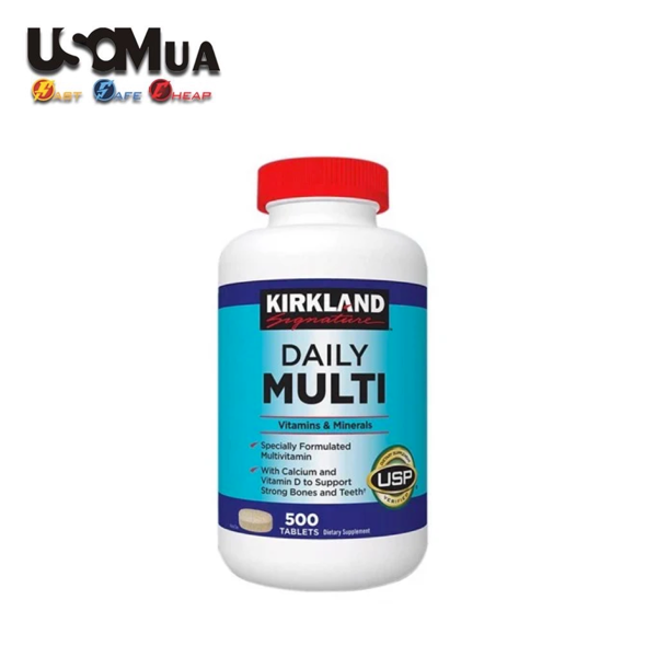 TPCN Kirkland Signature DAILY MULTI, 500 Tablets
