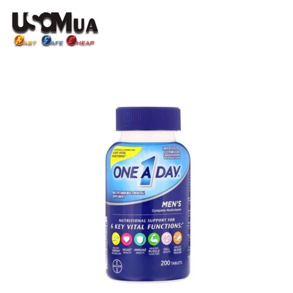 TPCN One A Day Multivitamin/Multimineral Supplement For Men
