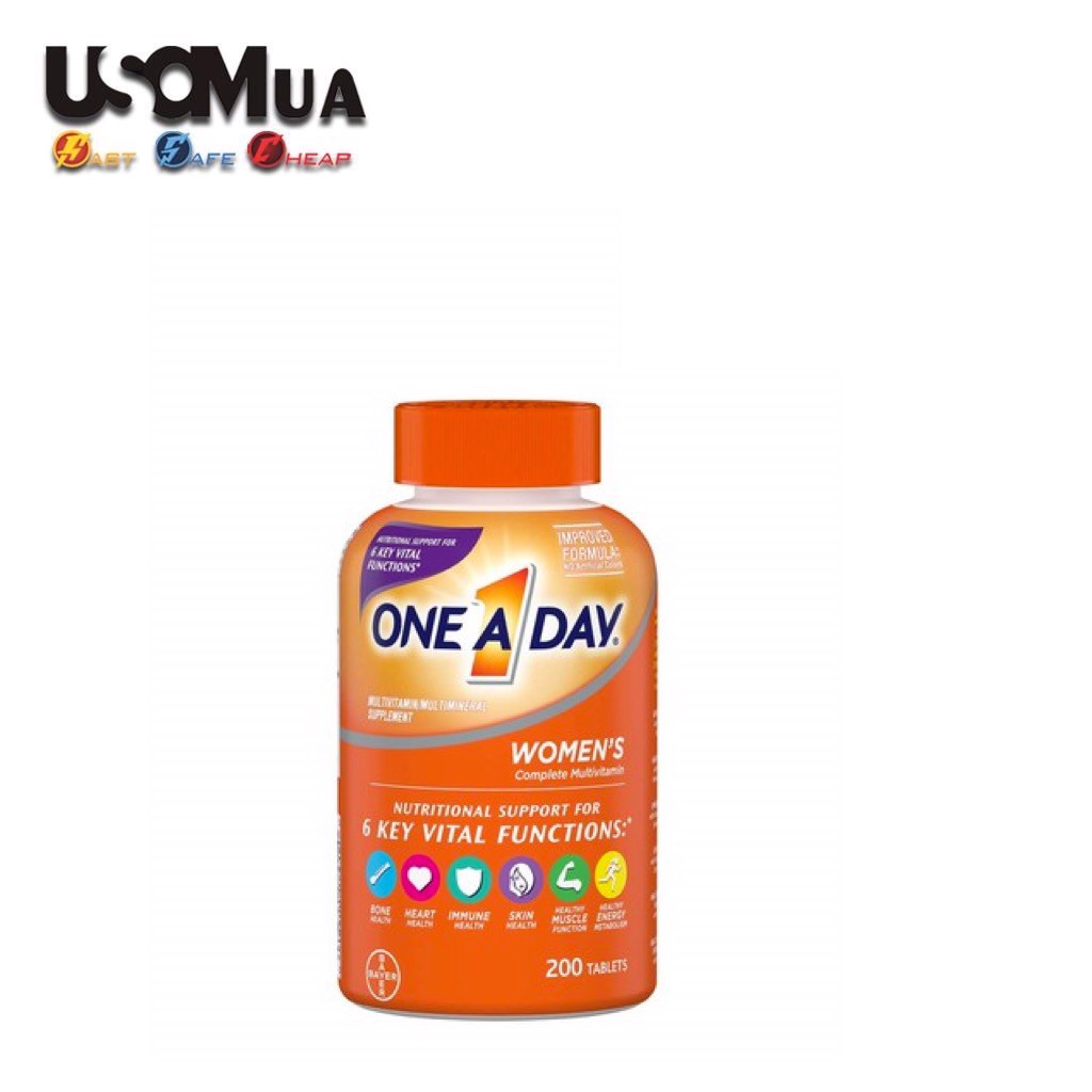 TPCN One A Day Multivitamin/Multimineral Supplement For Women's