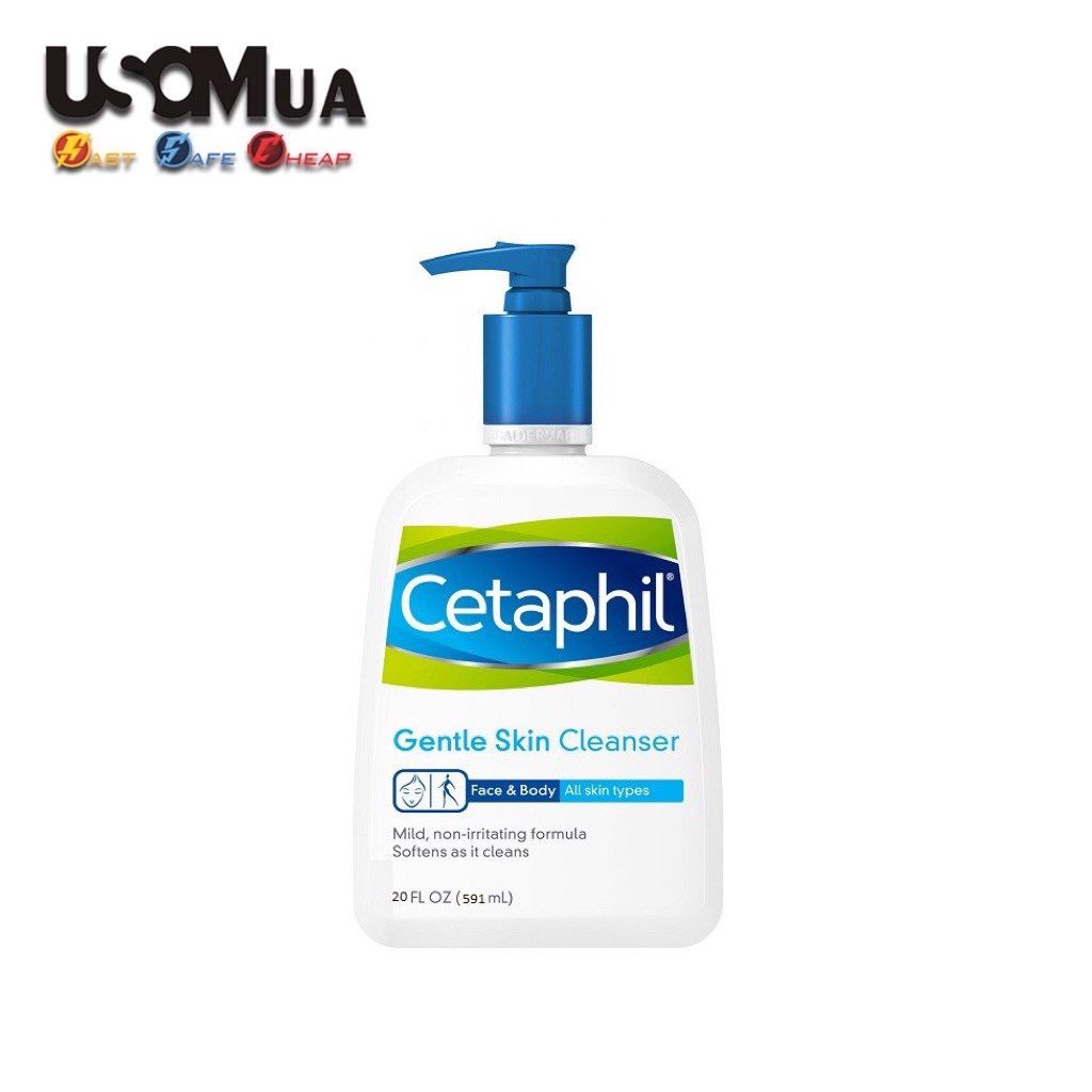 Sữa Rửa Mặt CETAPHIL Gentle Skin For All Skin Types, Face & Body