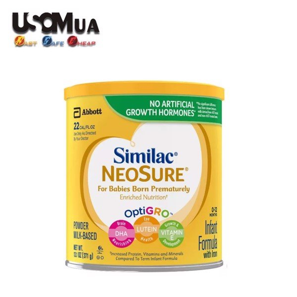 Sữa Similac NEOSURE Infant Formula, 0-12 Months