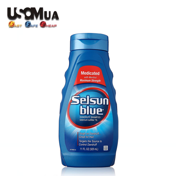 Dầu Gội Selsun Blue Medicated, 325ml