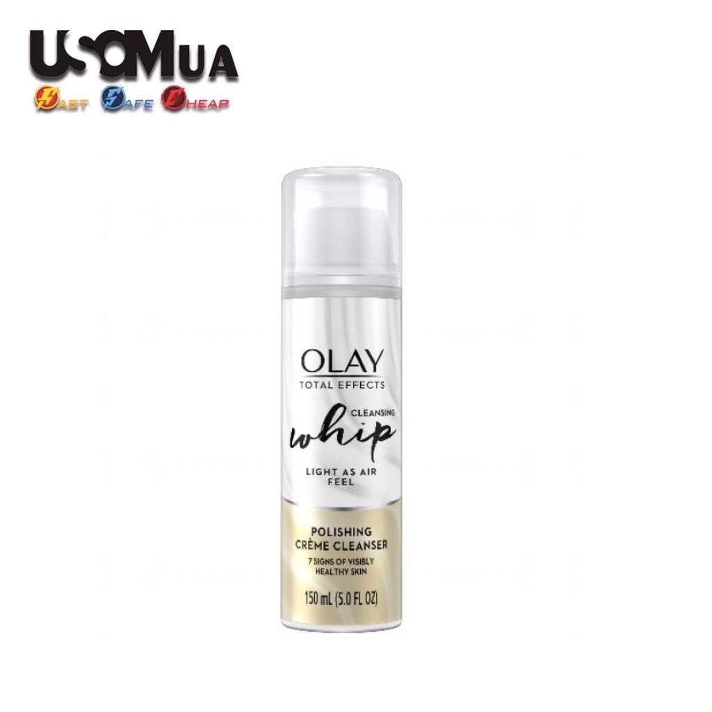 Sữa Rửa Mặt Olay Total Effects Whip Cleansing, 150ml