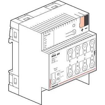Legrand KNX ON-OFF DIN CONTROLLER 8 outputs 8A