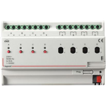 Legrand KNX 1-10V dimmer 4 channels