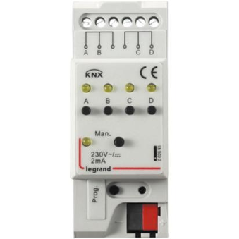 Legrand KNX binary interface 4 channels