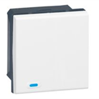 Legrand KNX command 2 push Mosaic - 1 cover (equiv MH 078471)