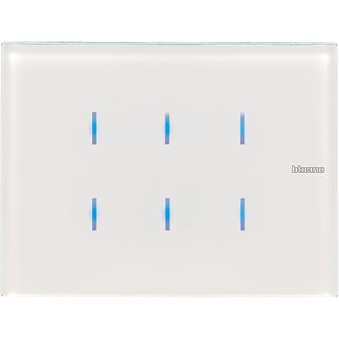 Legrand KNX-Axolute 6 touches glass control, white