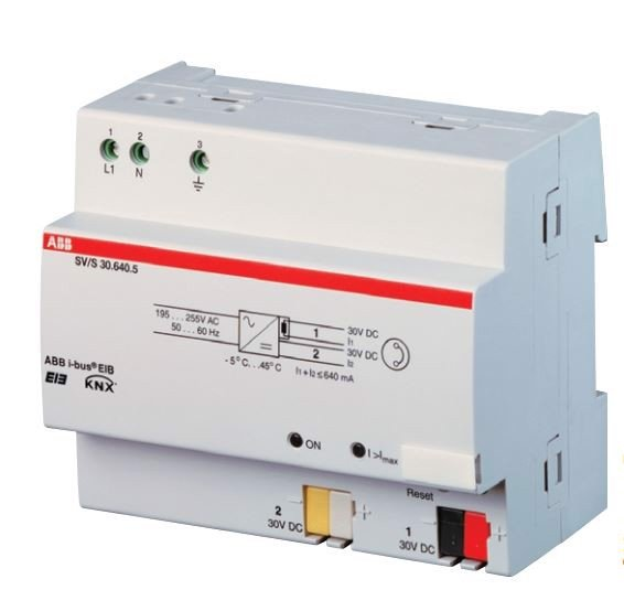ABB-KNX: Power supply for KNX system, 640 mA