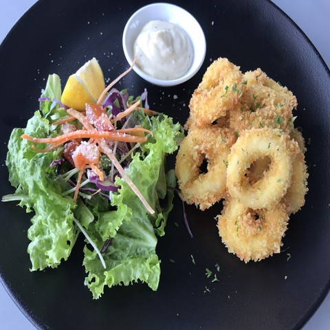 Battered Calamari w/ Aioli