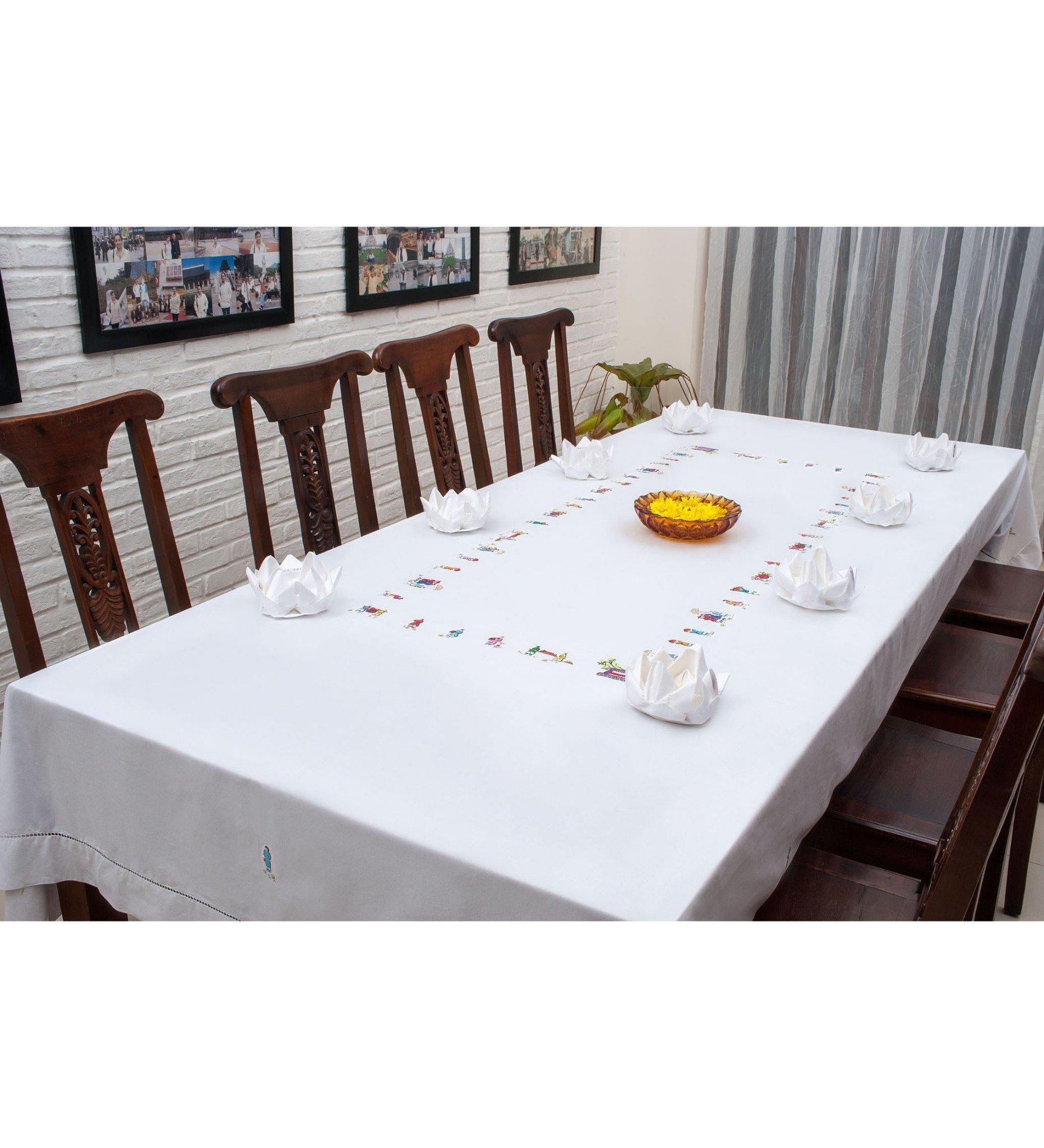 Khăn bàn chữ nhật- đám cưới- CIP