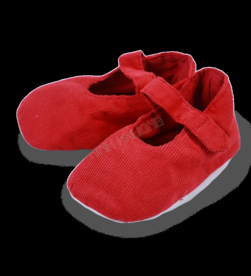 Giày nhung sơ sinh