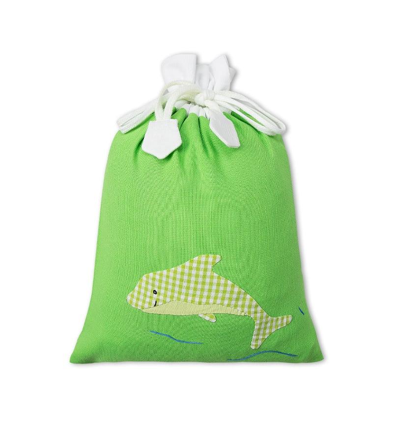 Bag - Túi rút baby - xanh lá