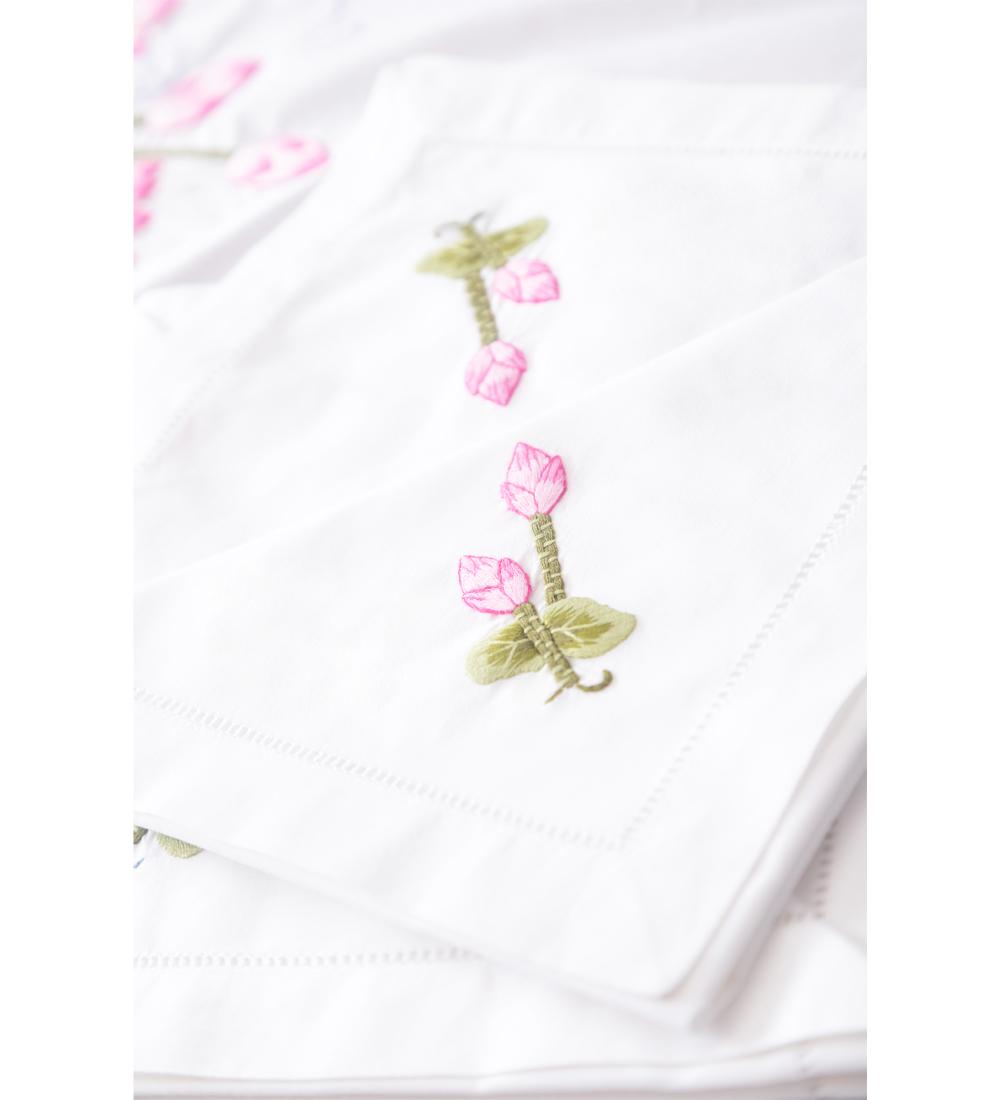 Table Cloth-Khăn bàn 8k175x250-CIP-Sen hồng