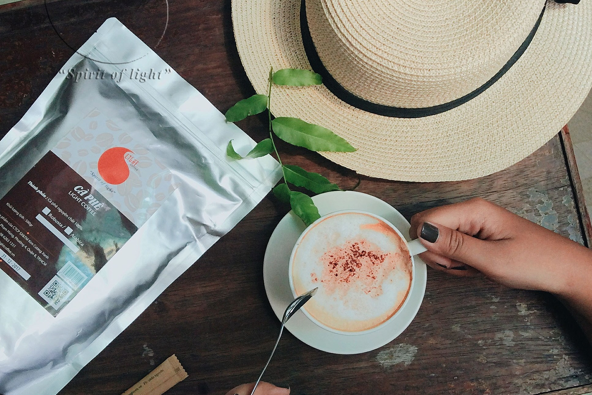 100g - Cà phê rang xay - Vị phối chuẩn - Light Coffee
