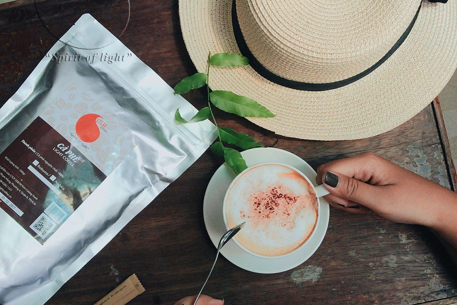 100gr - Cà phê bột Robusta Đặc biệt - Light Coffee