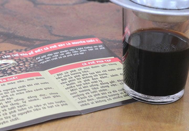 100gr - Cà phê hạt Arabica - Light Coffee