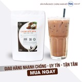 500g - Bột cacao sữa dừa Green D Food - Light coffee 500gr