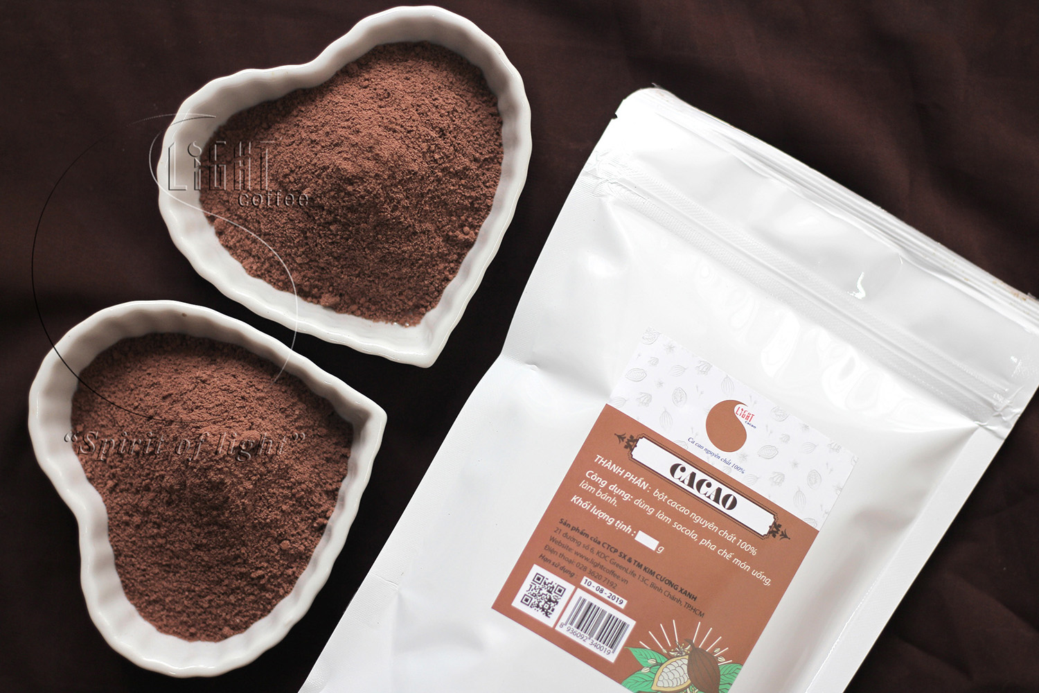100gr - Bột Cacao sữa (cacao 3IN1) - Light Cacao