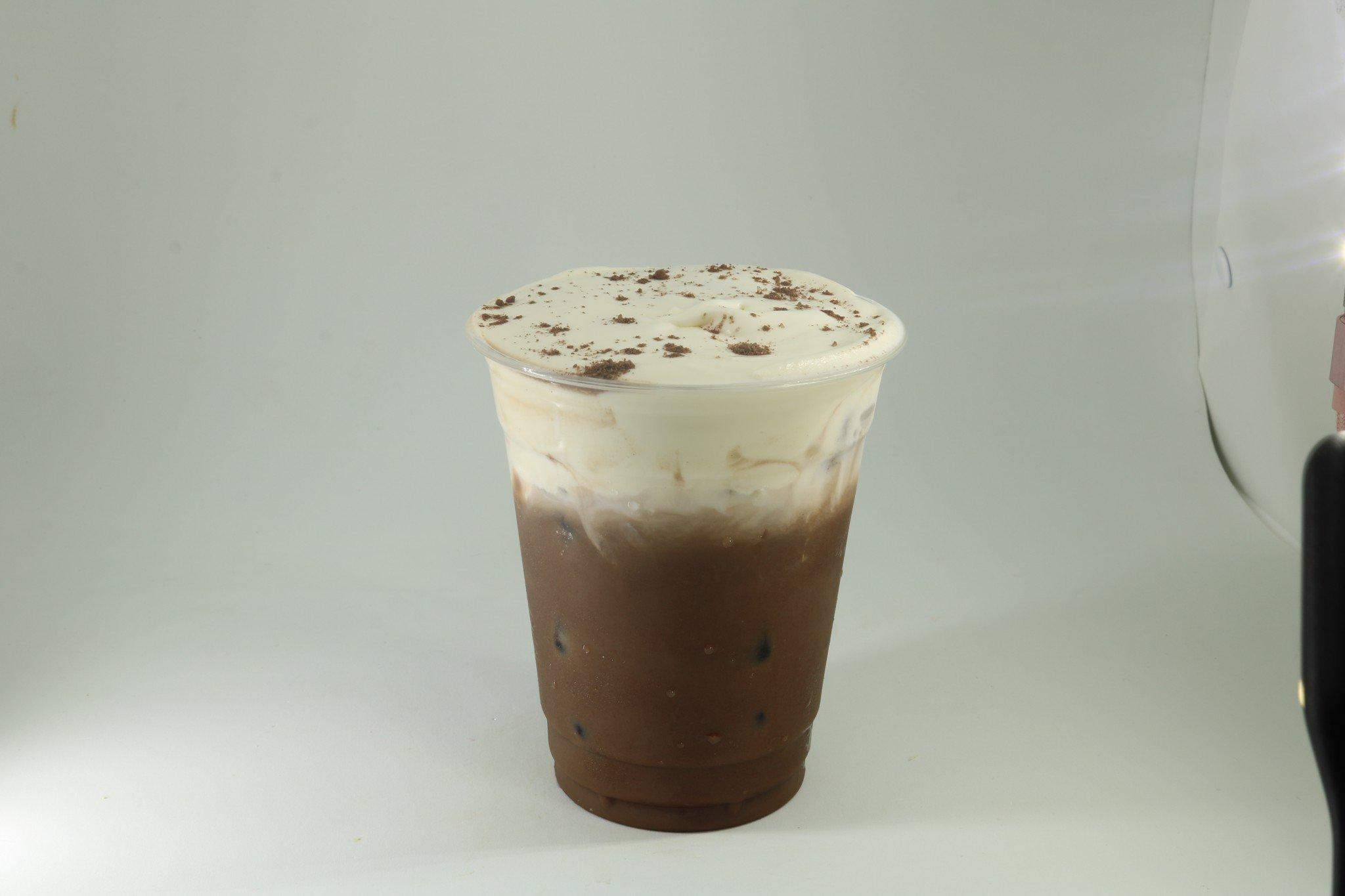 10. Cacao sữa milk foam