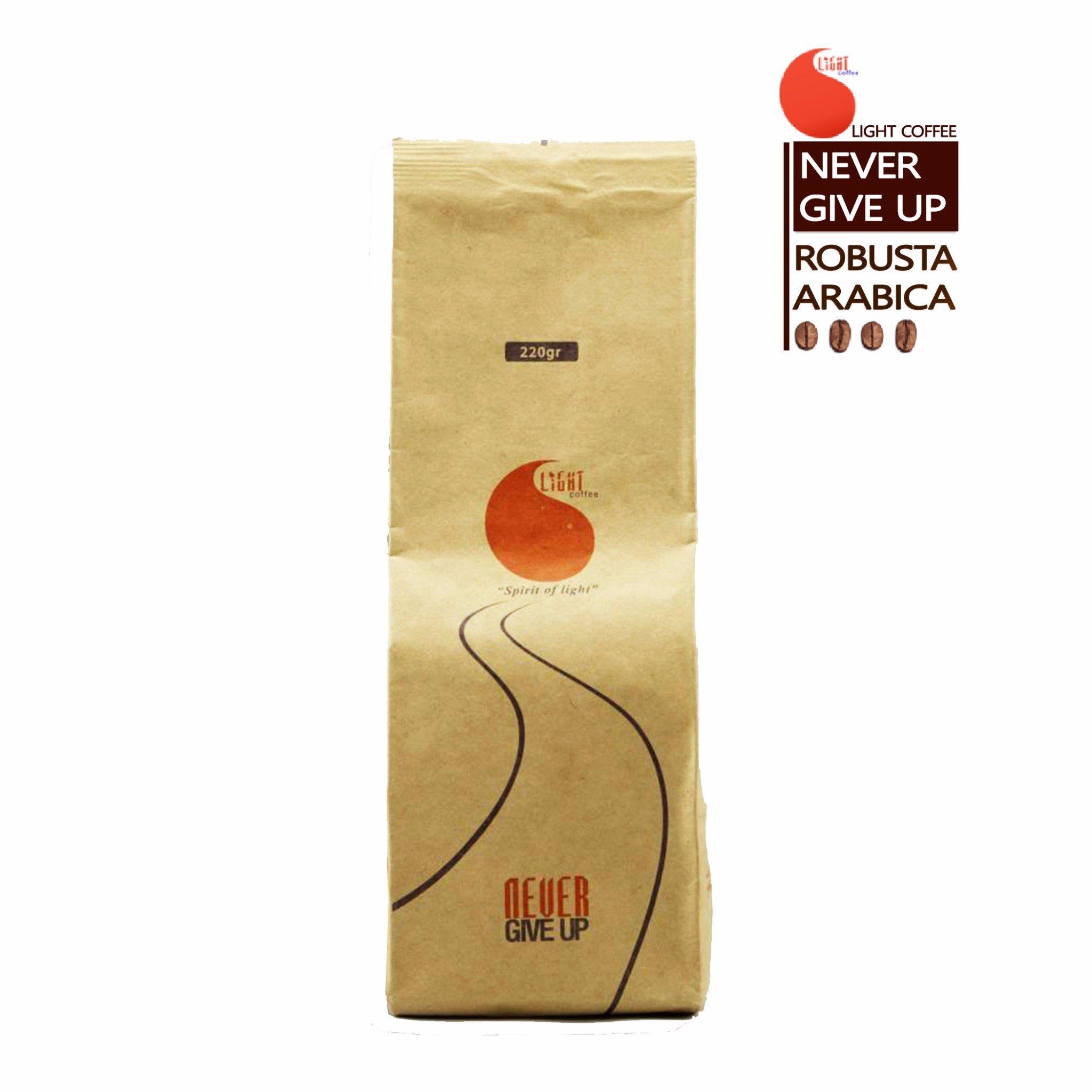 220gr Cà Phê Bột Nguyên Chất 100% - Light Coffee