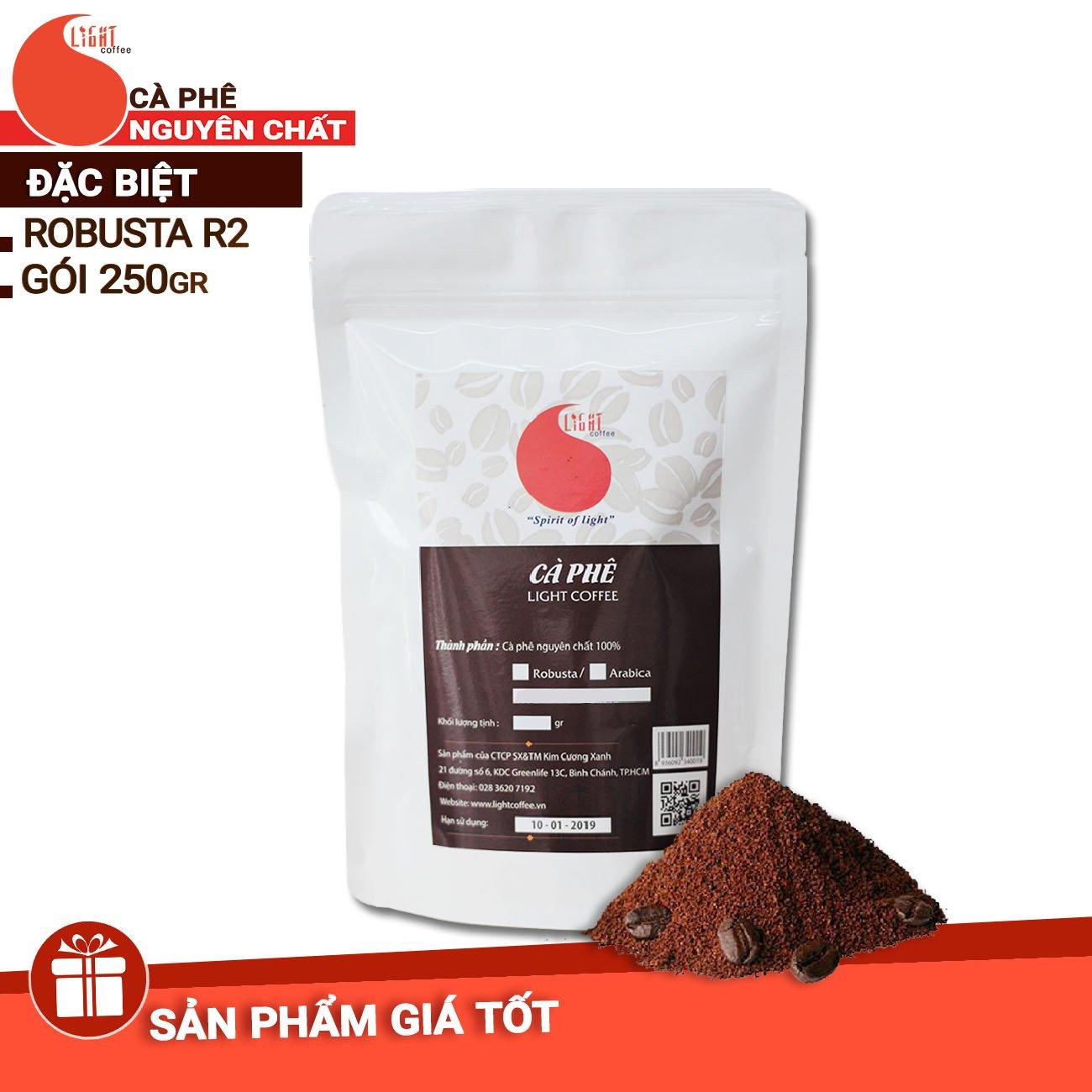 250gr - Cà phê bột Robusta Đặc biệt - Light Coffee