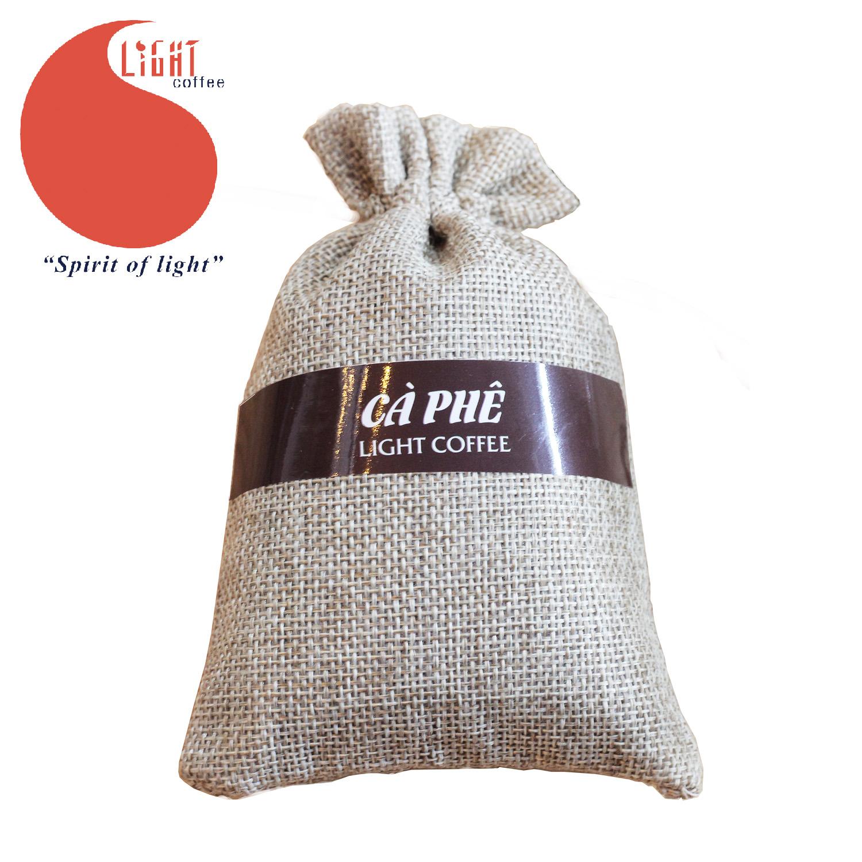 100g - Túi thơm cà phê nguyên chất 100% khử mùi Thời thượng - Light Coffee