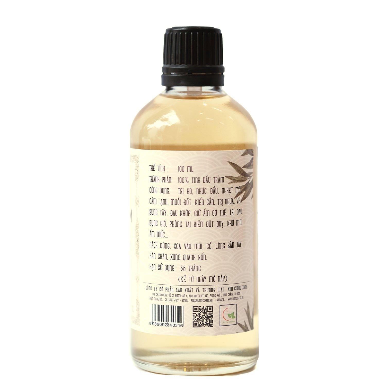 100ml - Dầu tràm nguyên chất Hoàng Cung Huế