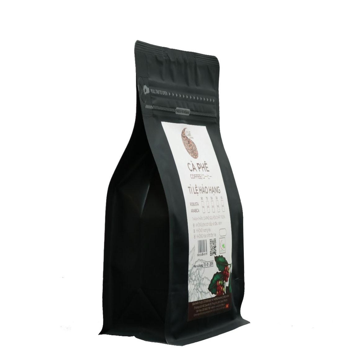 500g - Cà phê bột Tỉ lệ Hảo Hạng - 90% Robusta + 10% Arabica - Light coffee