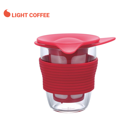 Ly lọc trà Hario 200ml - Light Coffee
