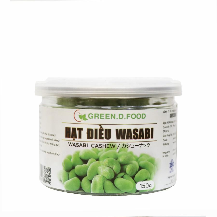 150g - Hạt điều Wasabi Green D Food - Thượng hạng