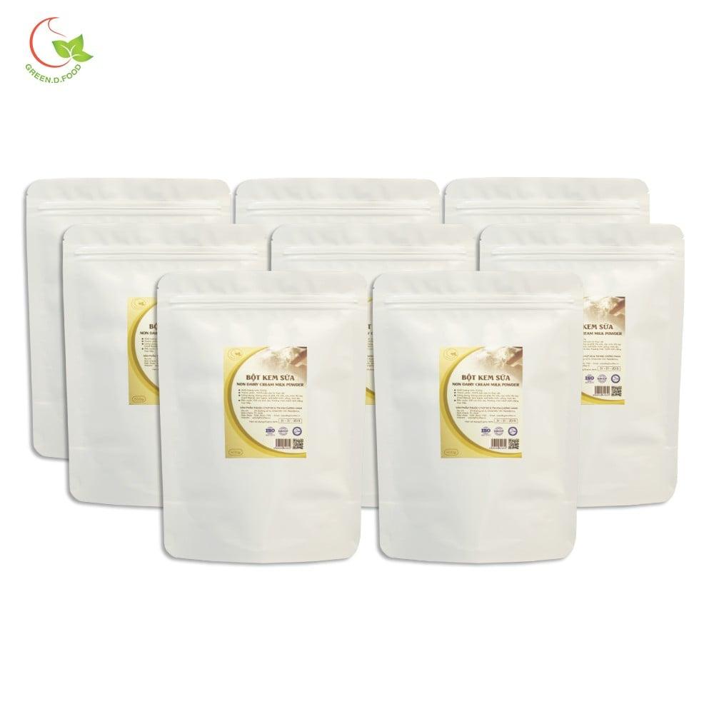 8 gói (500g/gói) bột kem sữa pha cafe Green D Food