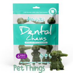 Altimate Pet Dental Chews Mint 6 Crocodile 150g