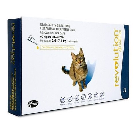 Revolution Cats & Rabbits 2.6 - 7.5kg