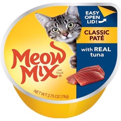 Meow Mix Classic Paté with Real Tuna 78g